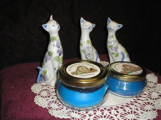 Cherish Type Scent Homemade Scented Soy Candle Hand by Mylingy, $6.50