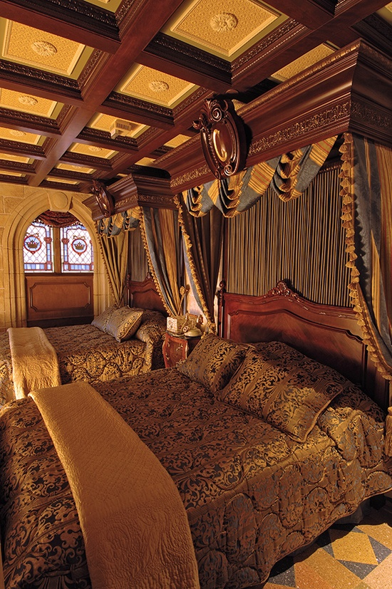 The perfect place for a princess to lay her head - Cinderella Castle Suite at Magic Kingdom Park