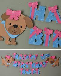 Baby dog cutouts