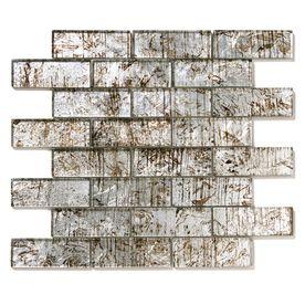 silver tile