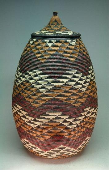 Zulu woven basket
