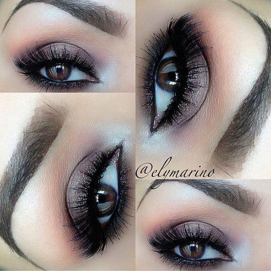 Brown Smokey Eye!