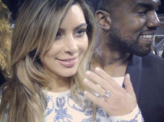 Kim Kardashian & Kanye West are engaged! Get the details...