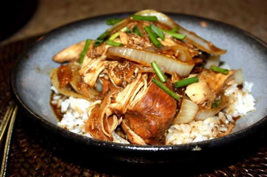 Soy Balsamic Slow Cooker Chicken-Stop it with these insanely easy dinner recipes
