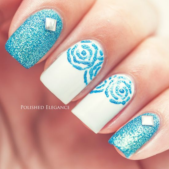 Lisa from Polished Elegance #nail #nails #nailart