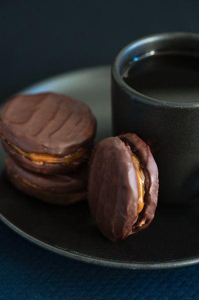 dulce de leche cookies @Laura Jayson Santini