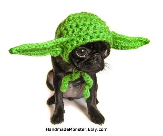 yoda inspired pet geekery nerdy costumes