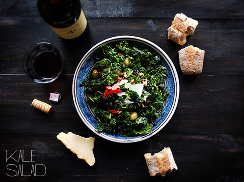 Food: Eleven Rad Things To Do With Kale  Insalata di Cavolo Nero alla Pizzeria Toro (via GiustoGusto )