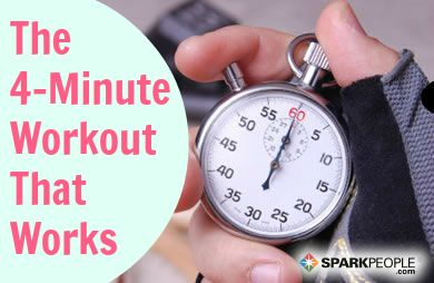 The 4-Minute Miracle Workout and