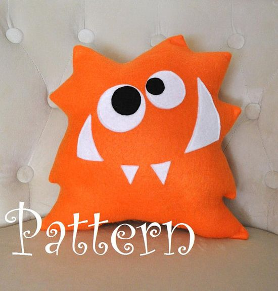 Monster Plush Pattern PDF Tutorial and by bedbuggspatterns on Etsy, $4.99