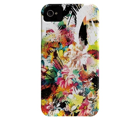 Anarchrysanthemum by Chuck Anderson iPhone case