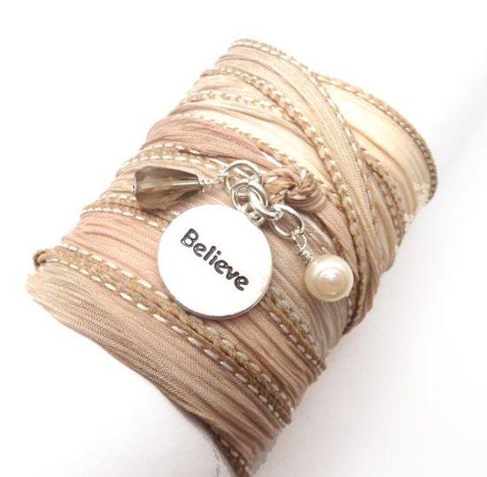 modern handmade charm bracelets by Lori Cohn