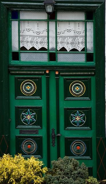 beautiful door in Germany