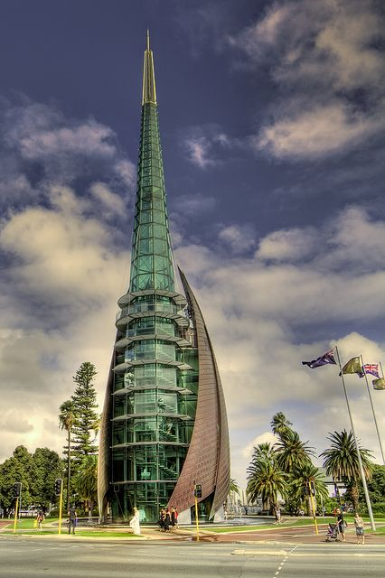 The Bell Tower - Perth, Western Australia #Architecture - ?k?