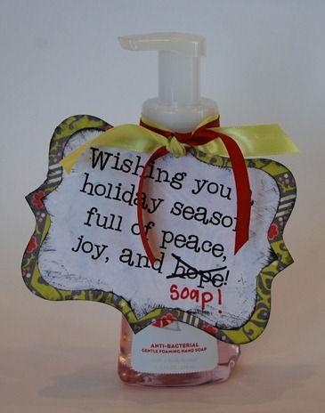 Christmas soap gift