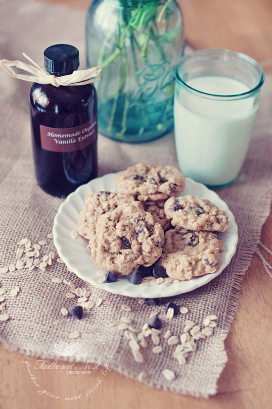 """Healthier"" Oatmeal Chocolate Chip Cookie Recipe"