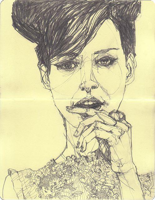 fashion illustration by Deanna Staffo