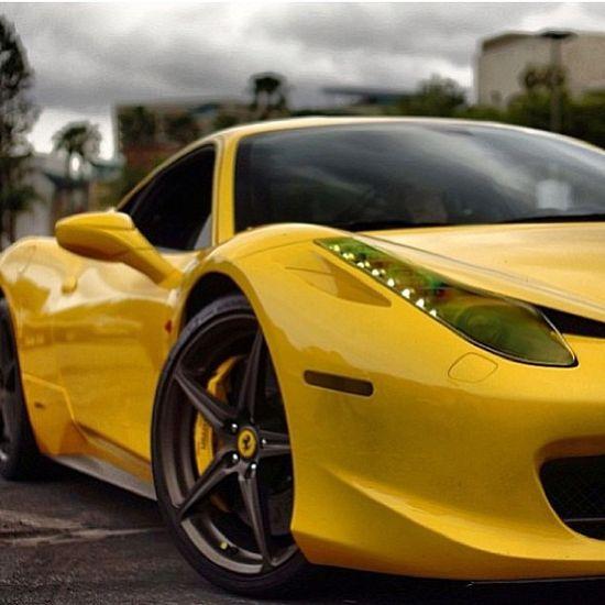 Electric Ferrari 458 Italia