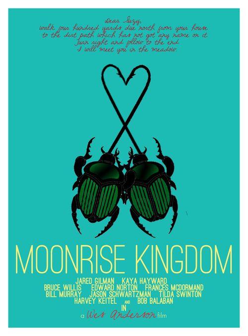 Moonrise Kingdom - movie poster