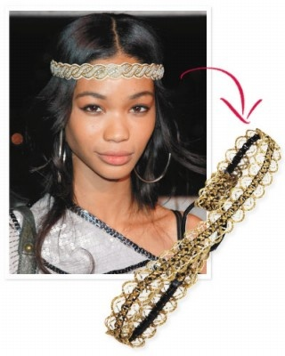 Lace headband - DIY Hair Accessories