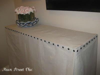 DIY Skirted table #2