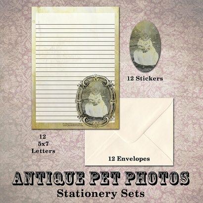Baby Cat Stationery Set on the redditgifts Marketplace