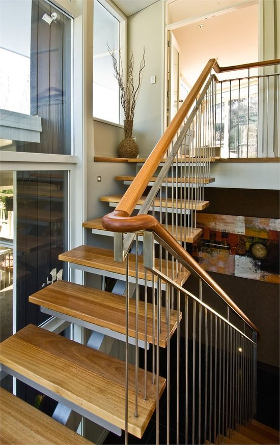 Kinsman House, Wellington, 2008 by John Mills #architecture #stair