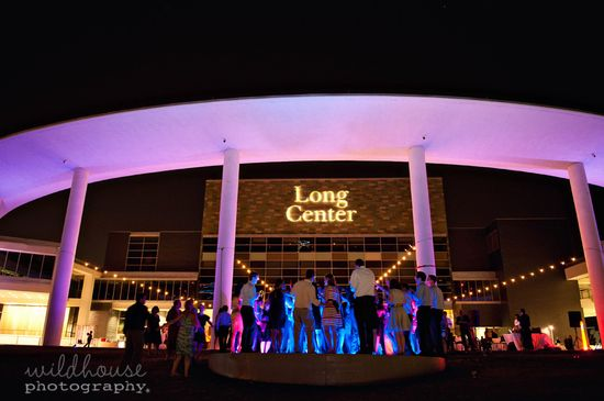 wedding reception #thelongcenter