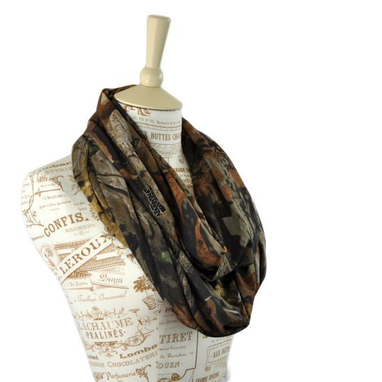 Real Tree Camo Infinity Scarf Timber Camouflage by ForgottenCotton, $23.00