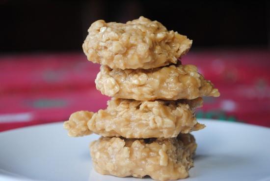 Biscoff No Bake Cookies