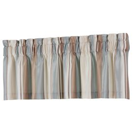 18-in L Blue Alison Tailored Valance