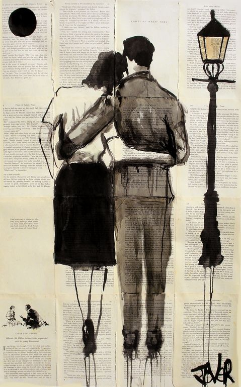"Saatchi Online Artist: Loui Jover; Pen and Ink, Drawing ""nostalgia""  ok..... I LOVE this artist! !!!!! Please for the love of art contact me for more...   Please! !!!"