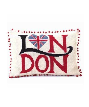 London Union Jack Heart Tapestry Kit, Jan Constantine