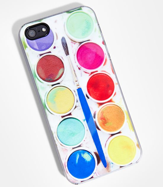 FredFlare.com - Lil' Picasso iPhone 5 Case - Watercolor Palette Mobile Phone Case