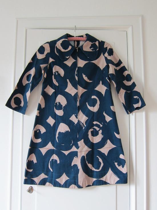 Marimekko custom made vintage dress 1960s / Finland Scandinavian design