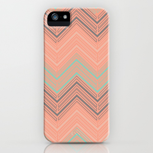 Soft Chevron iPhone Case