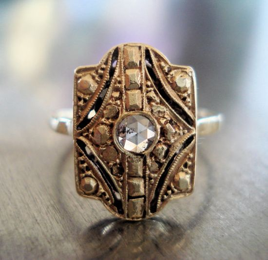 Art Deco Ring ? ? ? ?