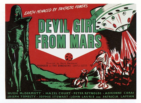 Devil Girl From Mars, via Flickr.