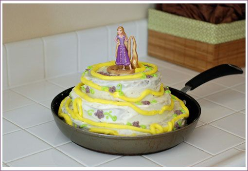 Tiny Oranges - Fresh, fun blog for OC moms - Tangled Theme Birthday Party Ideas