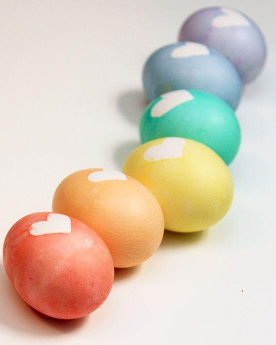 Heart Easter Eggs