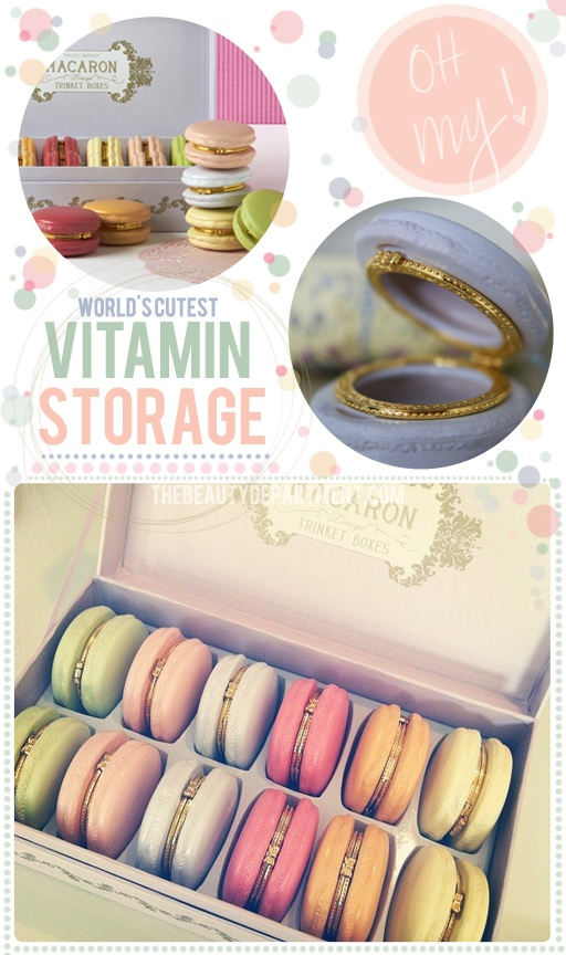 World's cutest vitamin storage idea for 10 dollars. #GIFT of the week!