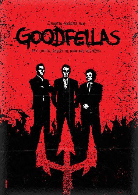 Goodfellas - movie poster - Daniel Norris