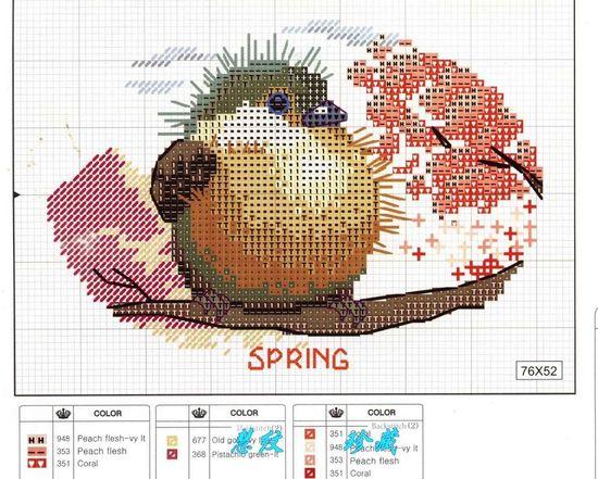 L'oiseau du printemps