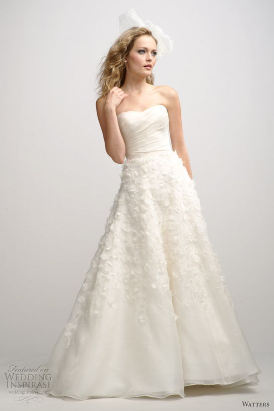 Watters Brides Fall 2012 Wedding Dresses