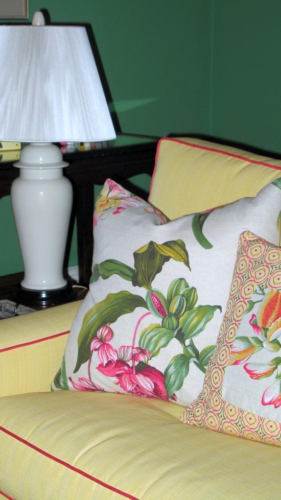 pink/yellow/green    Tamara Stephenson Interior Design