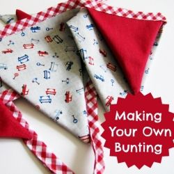 A simple bunting/garland tutorial.
