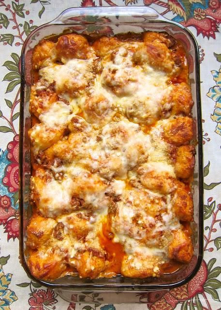 """Bubble Up Lasagna from """"Plain Chicken"""""""