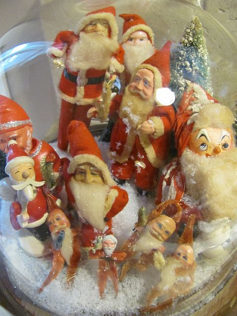 Santas!