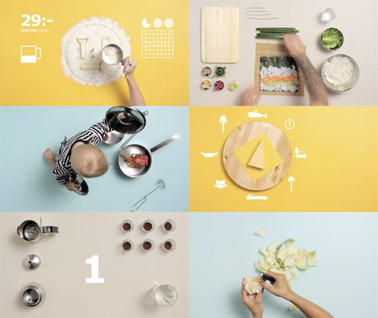 The Art of Cooking - ads by Carl Kleiner (vimeo.com/...)