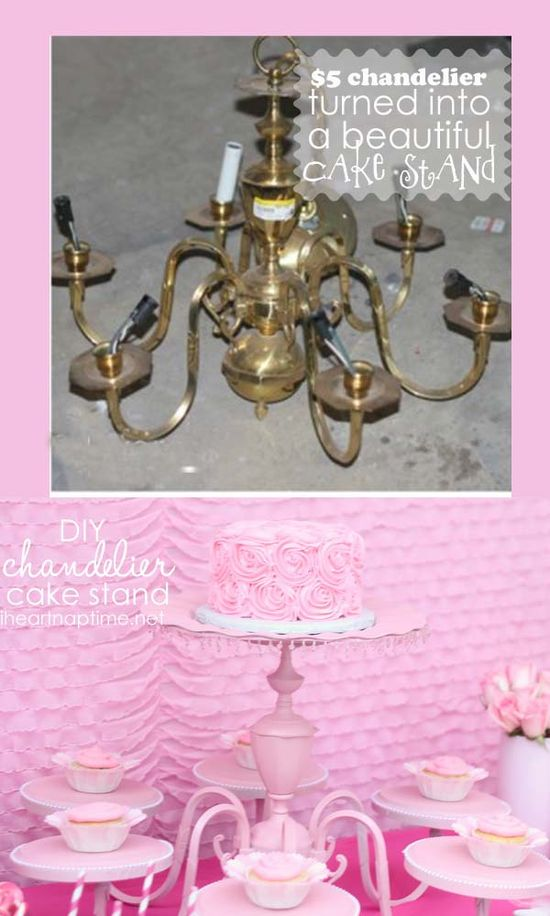 How To Make Cake Stand